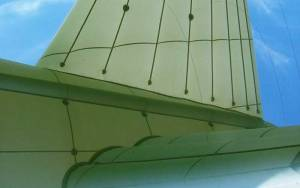 aerostat rudder airborne