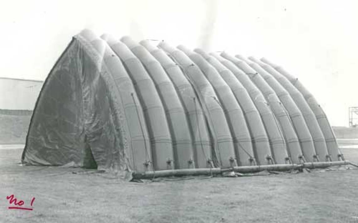 airborne industries hanger historical