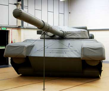 airborne industries inflatable tank