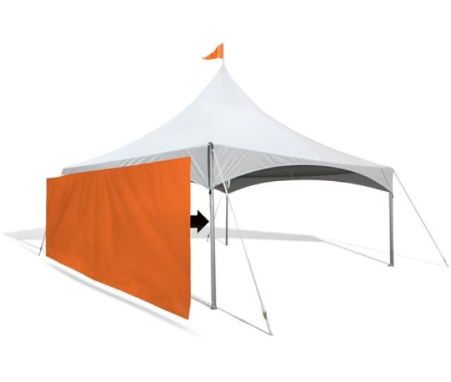 Custom Canopy Tent Wall