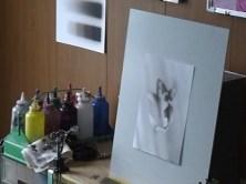 エアブラシ アート