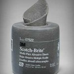 Scotch Brite Multi Flex 150x150 - Preparing Surfaces for Airbrushing - part 1