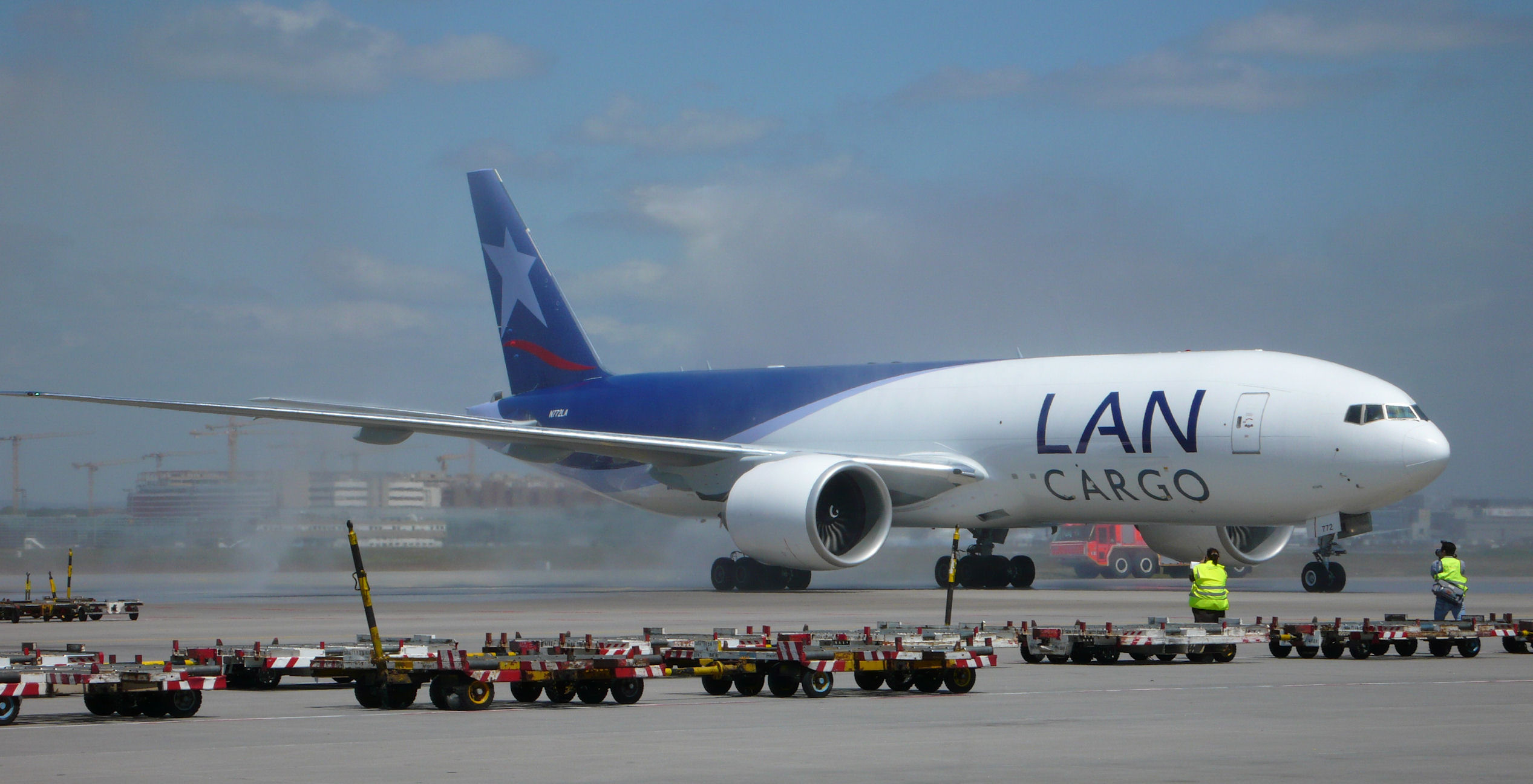 Atlas buys B777 freighter pair from LATAM ǀ Air Cargo News