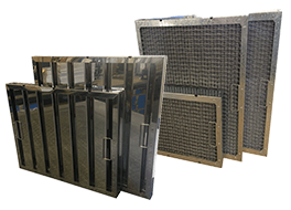 Kitchen Grease Filters Canopy mesh baffle stainless aluminium manufacturer Grease Filters