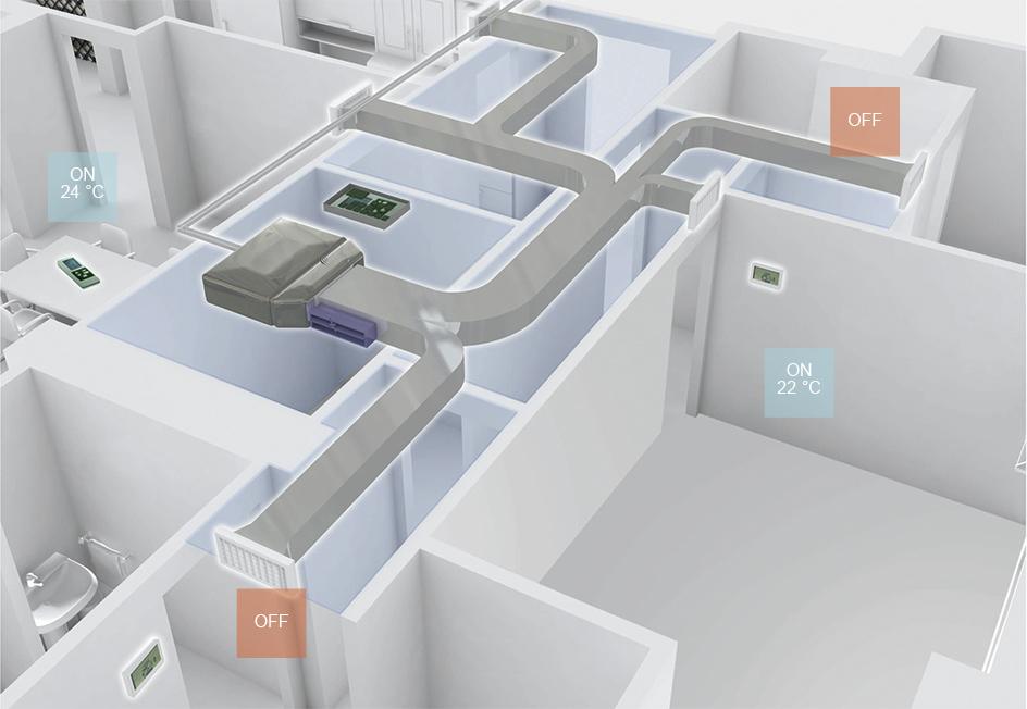Airzone  Panasonic  Calefaccin y Aire Acondicionado