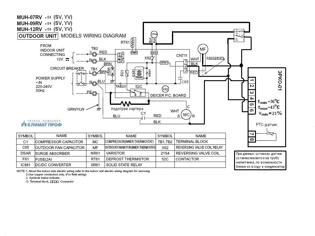 Электрическая принципиальная схема panasonic sa