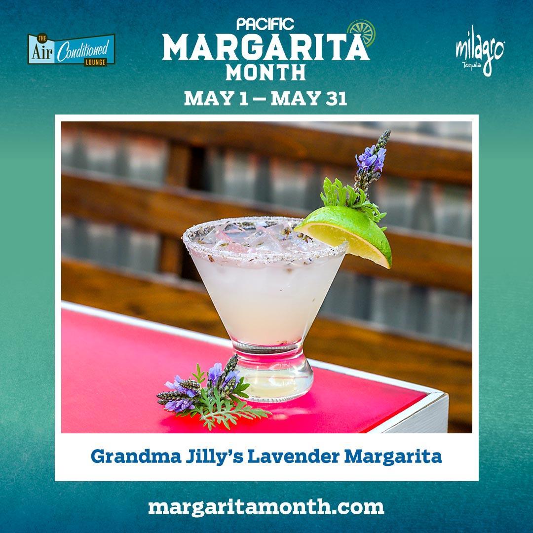 Grandma Jilly's Lavender Margarita #MargaritaMonth | Air