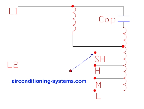 wiring diagram heating systems kenwood kdc 138 2 air conditioner motors