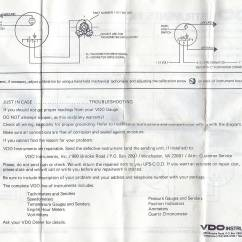 Vdo Marine Tachometer Wiring Diagram For Ac Condenser Fan Motor Stewart Warner Fuel Gauge