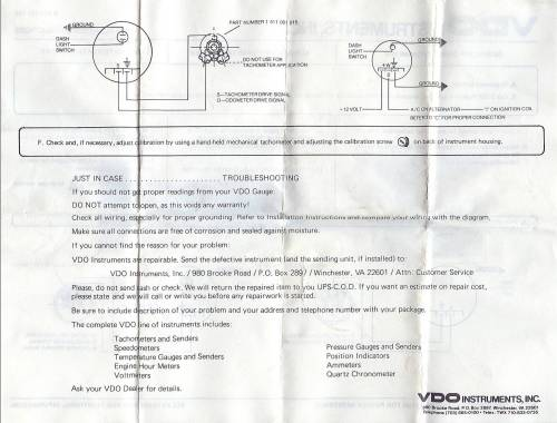 small resolution of vdo extreme tach wiring diagram vdo discover your wiring diagram vdo extreme tachometer wiring diagram