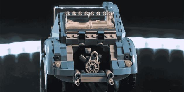 Timelapse LEGO Beetle