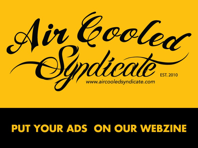Aircooled Syndicate - Ad Price - Air Cooled Syndicate