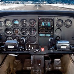 Cessna 172 Dashboard Diagram Goodman Heat Pump Capacitor Wiring Electrical Instruments Free For You Flight Deck Poster From Aircraft Spruce Skyhawk Pitot Static System