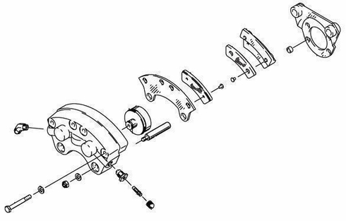 CLEVELAND 30-65 BRAKE ASSEMBLY from Aircraft Spruce