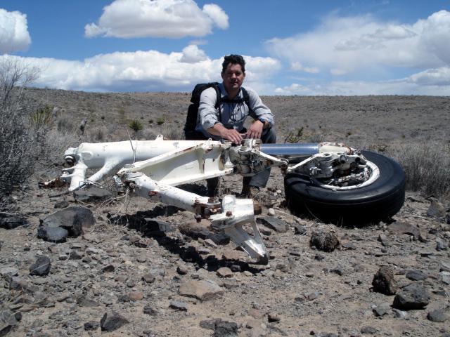 Navy Grumman A6E Intruder crash near Oatman Kingman Arizona
