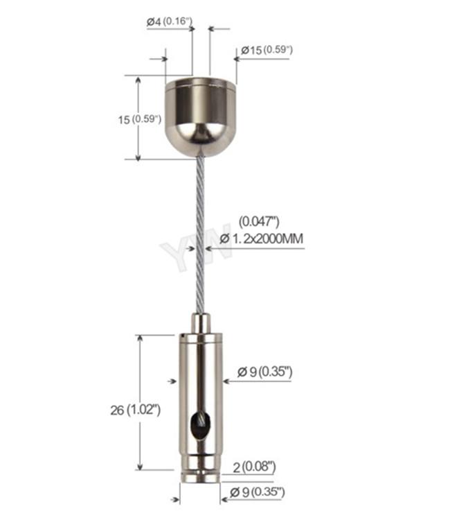 Pendant Light Suspension Kit / Lighting Suspension Systems