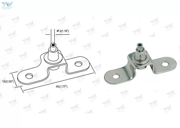 Heavy Duty Wire Cable Hanging System Steel Ceiling Bracket