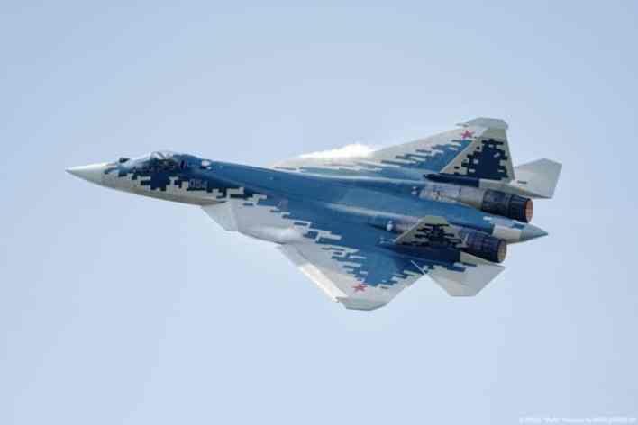 Su 57 T 50 4 multi role fighter