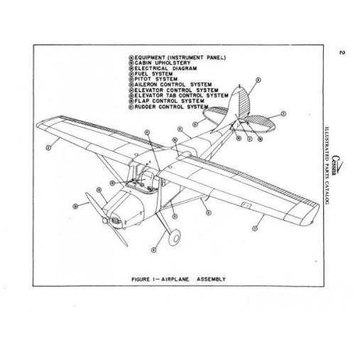 Cessna 170A Parts Catalog 1949 thru 1951 Revised 1995
