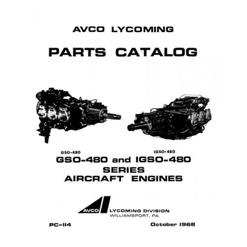 Lycoming GSO-480 and IGSO-480 Series PC-114 Aircraft