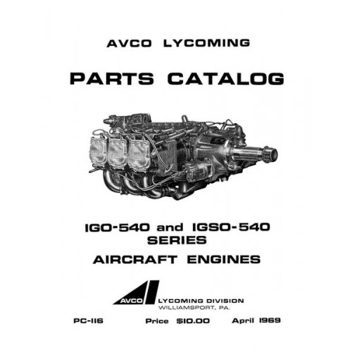 Lycoming IGO-540 and IGSO-540 Series PC-116 Aircraft