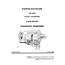 Lycoming Parts Catalog Manuals
