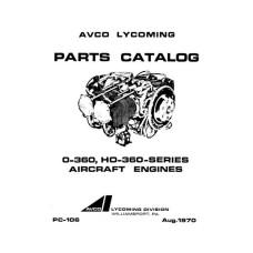 Lycoming O-360, HO-360 Series Aircraft Engines PC-106