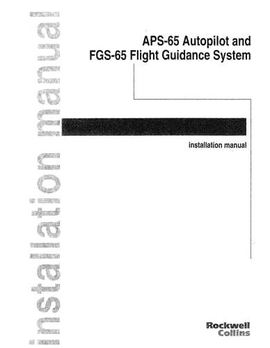 Collins AUD-251H Audio Panel Installation Manual (part