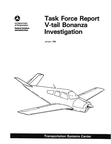 Beech V-Tail Bonanza Investigation Report (part# BEVTAIL-IR-C)