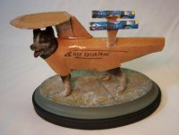 "Dog in Star Trek Costume by Hal Elsberry ""Els"""