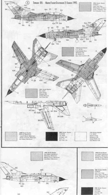 1/48 Italeri Tornado IDA review by Matias Dadone