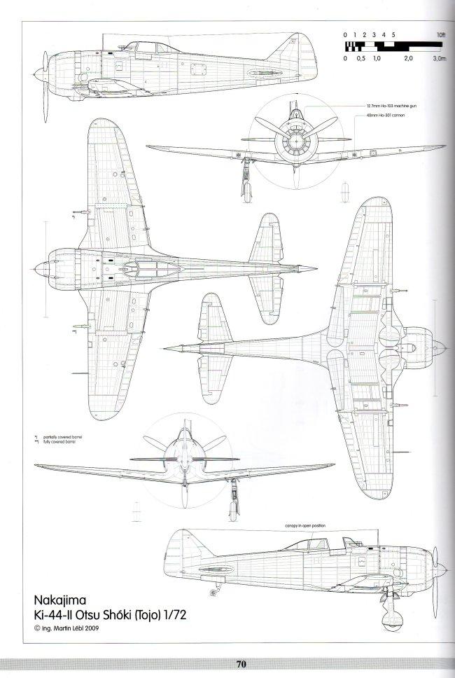 REVI Publications Nakajima Ki-44 Shoki Book