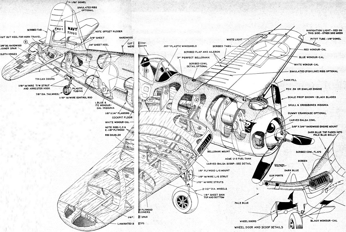 Vought F4U Corsair Warplane Technical Specs, History and