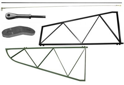AERONCA / BELLANCA STABILIZER FRAME AND COMPONENTS