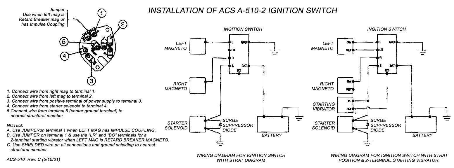 bt master socket 5c wiring diagram boat accessory switch panel acs keyed ignition with start position a 510 2 faa pma from installation
