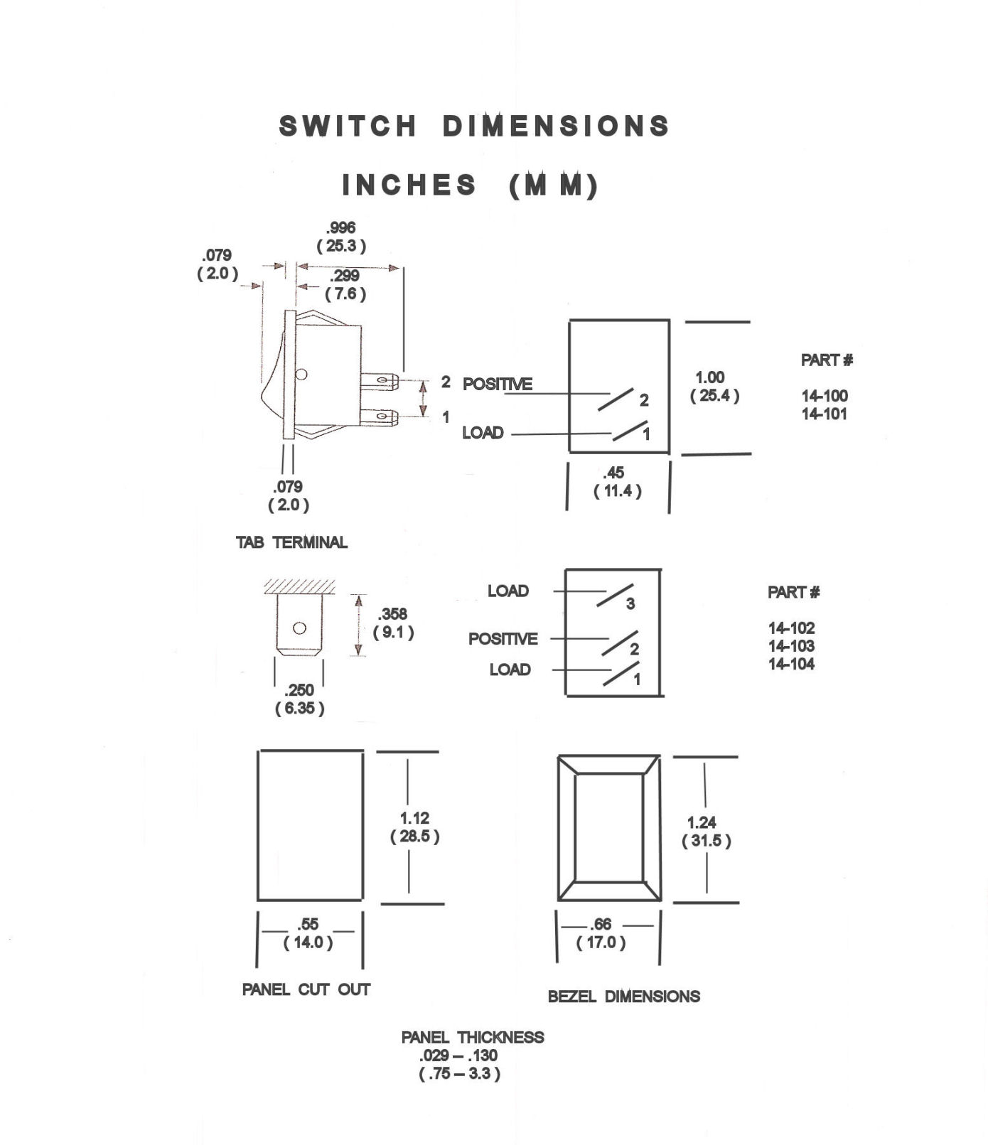 6 pin rocker switch wiring diagram for ignition on lawn mower are these 12 or 24 volt switches