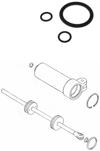 CESSNA 150/152/172 SHIMMY DAMPER SEAL KIT from Aircraft