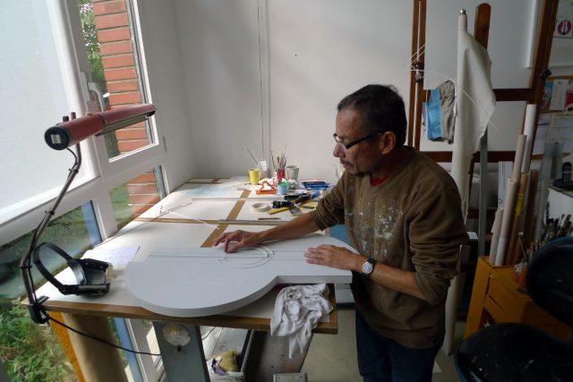 aircube project 17 - OCTAVIO HERRERA, atelier Evry/F, 2011