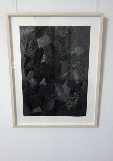 ANDREAS KOCKS - #1204g - 2012 - graphit/Büttenpapier/geschnitzt - 38x28cm
