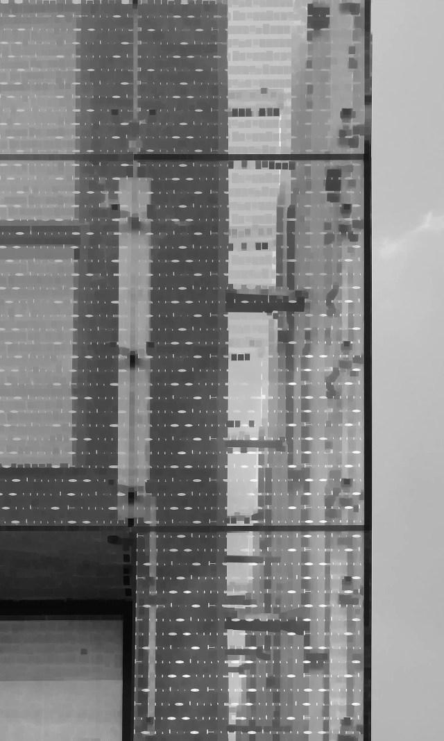 URSA SCHÖPPER -  zeichen/signal I - 2014 - aludibond - unikat - 50x30cm