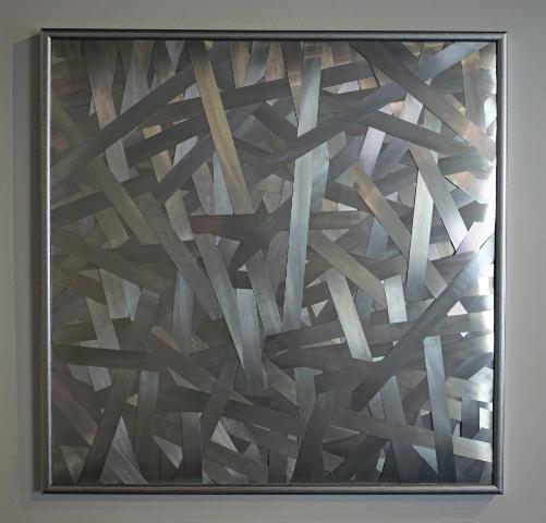 DANINO BOZIC - SNOVIDENJE - metal - 100x100cm - 2011