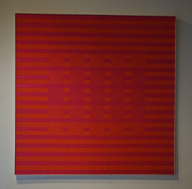 HANNS HERPICH - ohne titel - 2006 - polyester/jaquardgewebe - 113x113cm - 1/1
