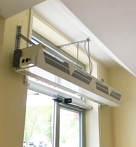 air curtain design manufacture from