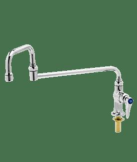 B-0255 Single Pantry Faucet, Single Hole Base, Deck Mount