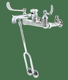 B-0657 Service Sink Faucet, Wall Mount, 8