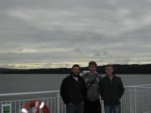 Boys on the ferry