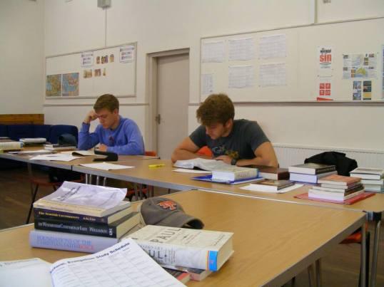 SIS studying