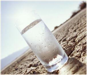 Condensación de humedad en un vaso