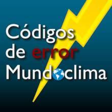 Códigos de error Mundoclima