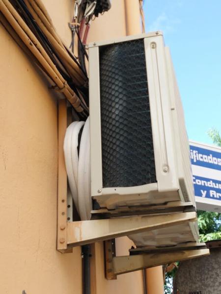 Ruido de gas en aire acondicionado